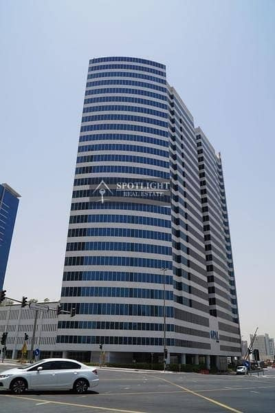 Office for Rent in Business Bay, Dubai - CANAL VIEW! BEST FURNISHED  AND PARTITIONED OFFICE IN OPAL TOWER