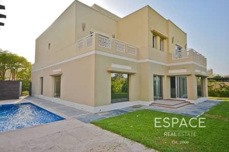 فیلا 5 غرف نوم للايجار في السهول، دبي - Golf Views | Upgraded Villa | Private Pool