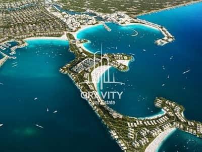 ارض صناعية  للبيع في غنتوت، أبوظبي - Plot W/ Full Sea View & Private Access To The Beach