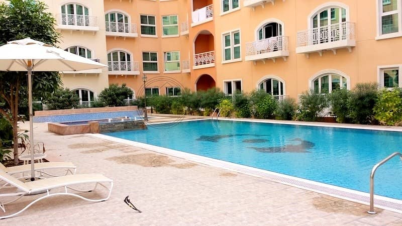 Fully Furnished Studio at AED 25