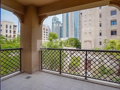 شقة 1 غرفة نوم للايجار في المدينة القديمة، دبي - Unfurnished | Spacious 1 Bedroom | Vacant