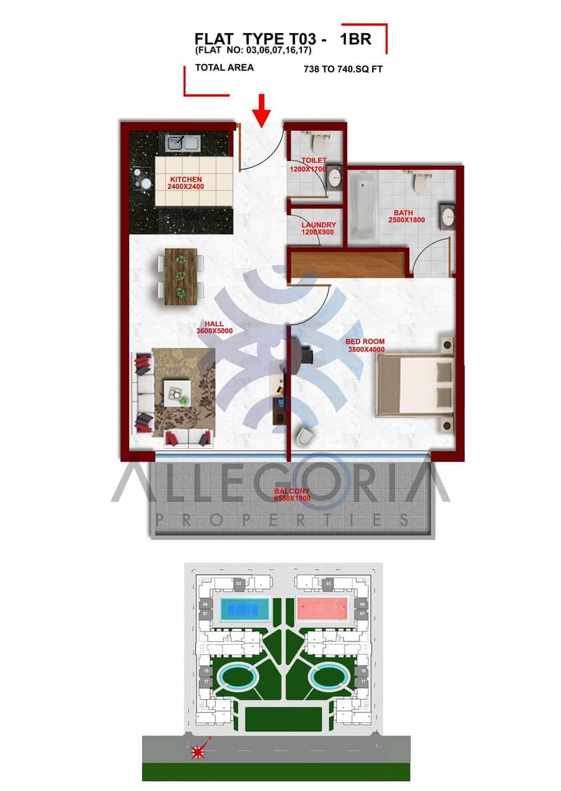 14  Brand New Apartment.