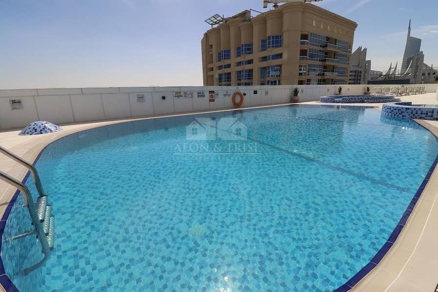 19 Elegant 1 bedroom in Saba tower 3 park view