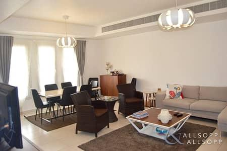 فیلا 3 غرف نوم للايجار في الينابيع، دبي - 3 Bedrooms | Back To Back | Springs 10