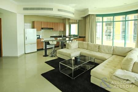 فلیٹ 2 غرفة نوم للايجار في دبي مارينا، دبي - Furnished | 2 Bedroom | Sea Views | Vacant