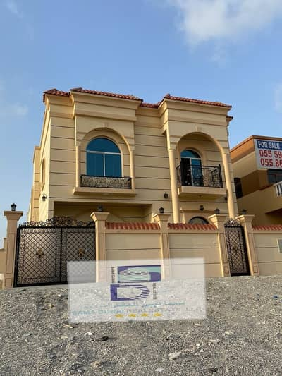 5 Bedroom Villa for Sale in Al Helio, Ajman - To sell a modern villa in a new Jasmine first resident Price is negotiable