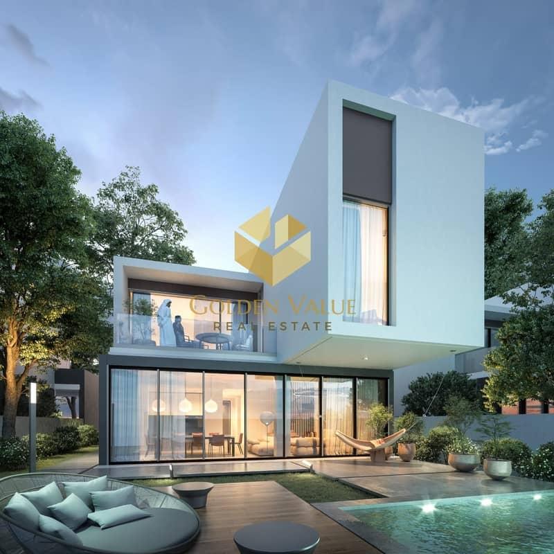 Unique 4 BR Villa l New Heart Of Sharjah l Easy Installment