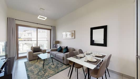 1 Bedroom Flat for Rent in Arjan, Dubai - Open kitchen   Close to mall   Contactless tours