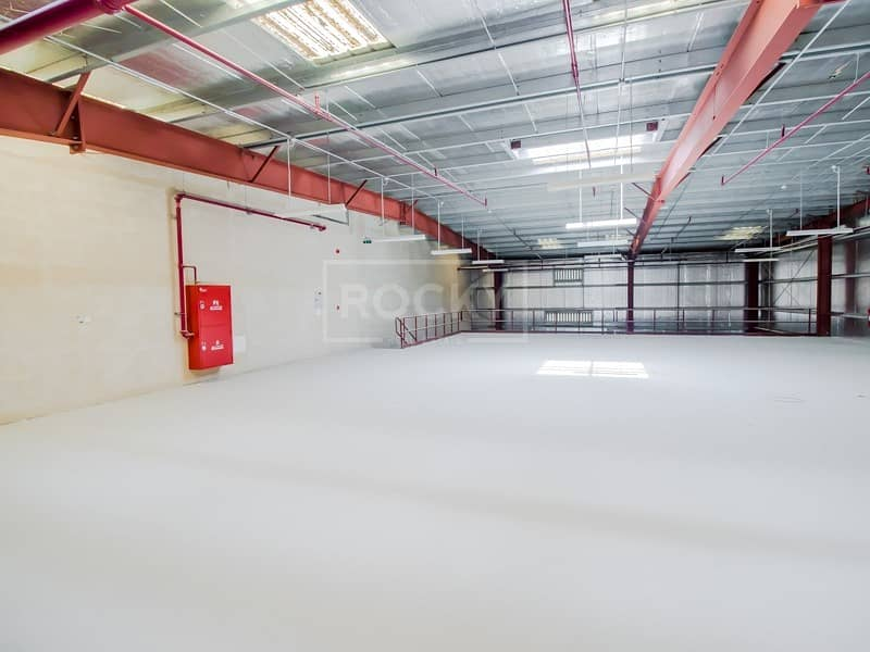 with Mezzanine | Warehouse for rent | Jebel Ali
