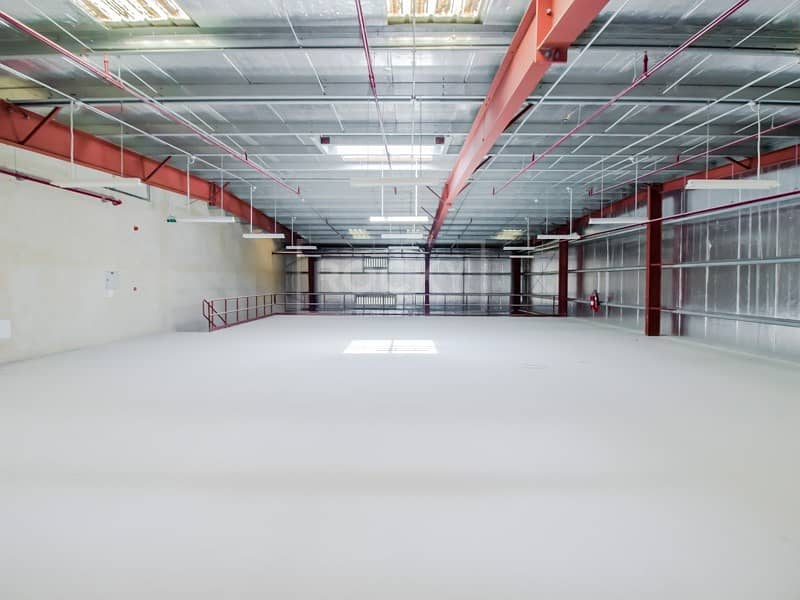 2 with Mezzanine | Warehouse for rent | Jebel Ali