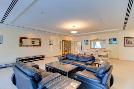 4 Bedroom Penthouse for Rent in Dubai Marina, Dubai - 4 Bedroom Penthouse To Let in Elite Residence
