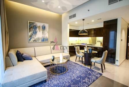 فلیٹ 1 غرفة نوم للبيع في الخليج التجاري، دبي - Furnished | Facing Pool 1 BR Apartment