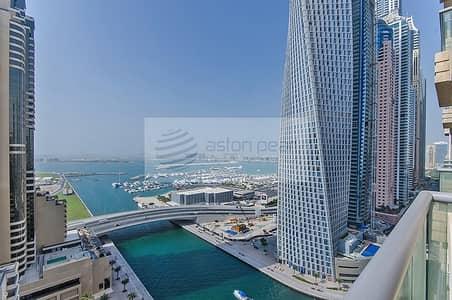 فلیٹ 2 غرفة نوم للايجار في دبي مارينا، دبي - 2 B/R Bright & Spacious   Marina View   Vacant Now
