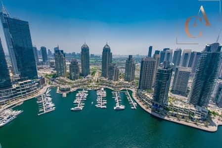فلیٹ 1 غرفة نوم للبيع في دبي مارينا، دبي - Dubai Marina View | Maid's Room | Balcony