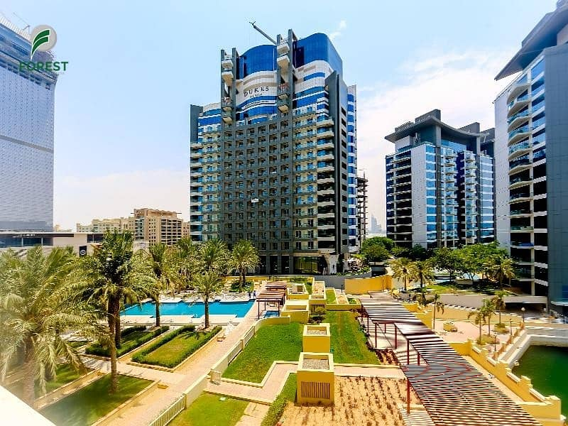 21 Sea and Pool View | Vacant 2BR | Huge Balcony