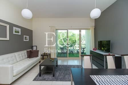 1 Bedroom Apartment for Rent in The Greens, Dubai - Upgraded | Fully Furnished | Vacant 1st September