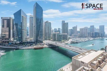 3 Bedroom Flat for Sale in Dubai Marina, Dubai - Largest 3 Bedroom Duplex Penthouse with Full Marina View