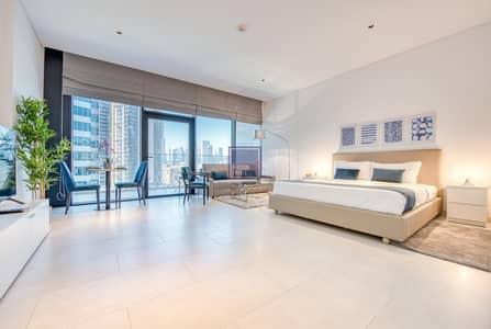 Studio for Rent in Business Bay, Dubai - Luxury Studio w/ Burj Khalifa Vw in Business Bay