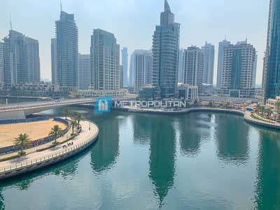 2 Bedroom Flat for Rent in Dubai Marina, Dubai - Extra Large Layout Full Marina View Chiller Free
