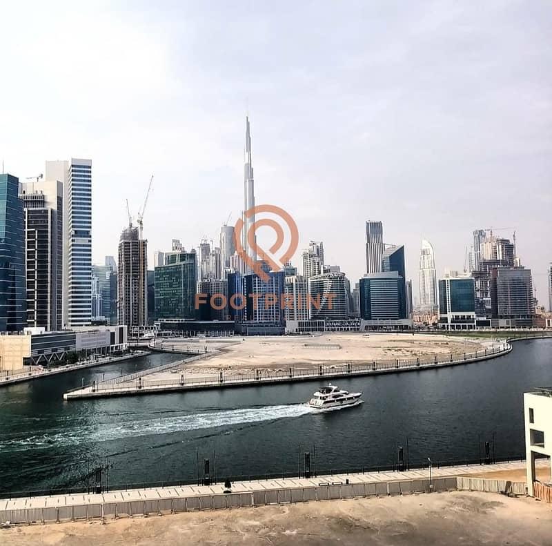 2 Full Burj & Canal View | High ROI | Brand New Unit