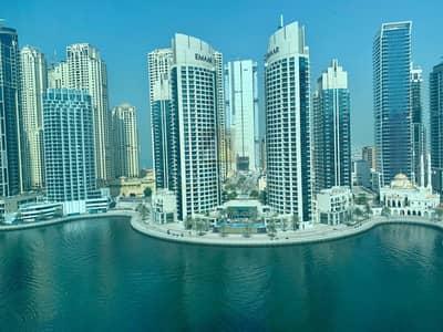 3 Bedroom Flat for Rent in Dubai Marina, Dubai - Exclusive Furnished 3BR Full Panoramic Marina view