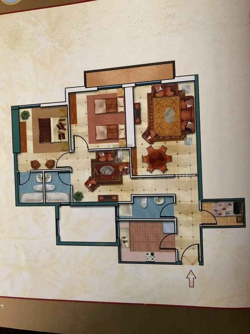7 Hot Deal Furnished 2BR Apartment
