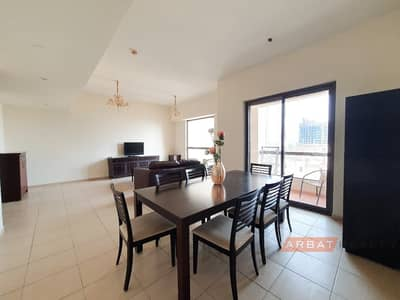 2 Bedroom Apartment for Rent in Jumeirah Beach Residence (JBR), Dubai - Bright and spacious apartment |Best deal