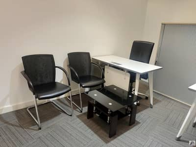 Office for Rent in Bur Dubai, Dubai - Book Your Smart & Furnished Office Only 20k Yearly!one cheque
