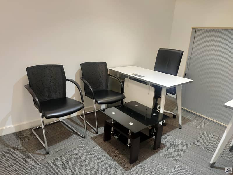 Book Your Smart & Furnished Office Only 20k Yearly!one cheque