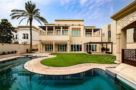6 Bedroom Villa for Sale in Emirates Hills, Dubai - Huge R Sector villa with Full Golf Views.
