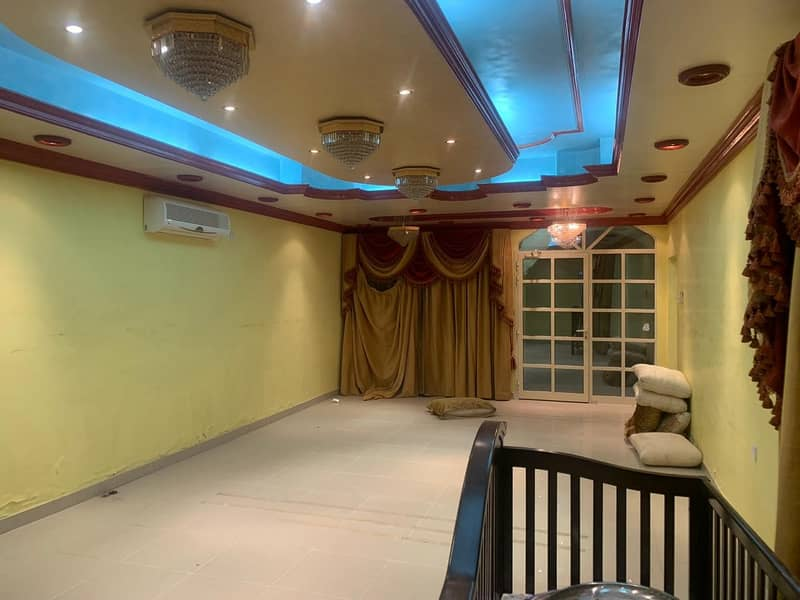3 Bed Rooms Hall Villa With 4 Washrooms Available For Rent | 52,000 Per Year  || Al Mesharif, Ajman