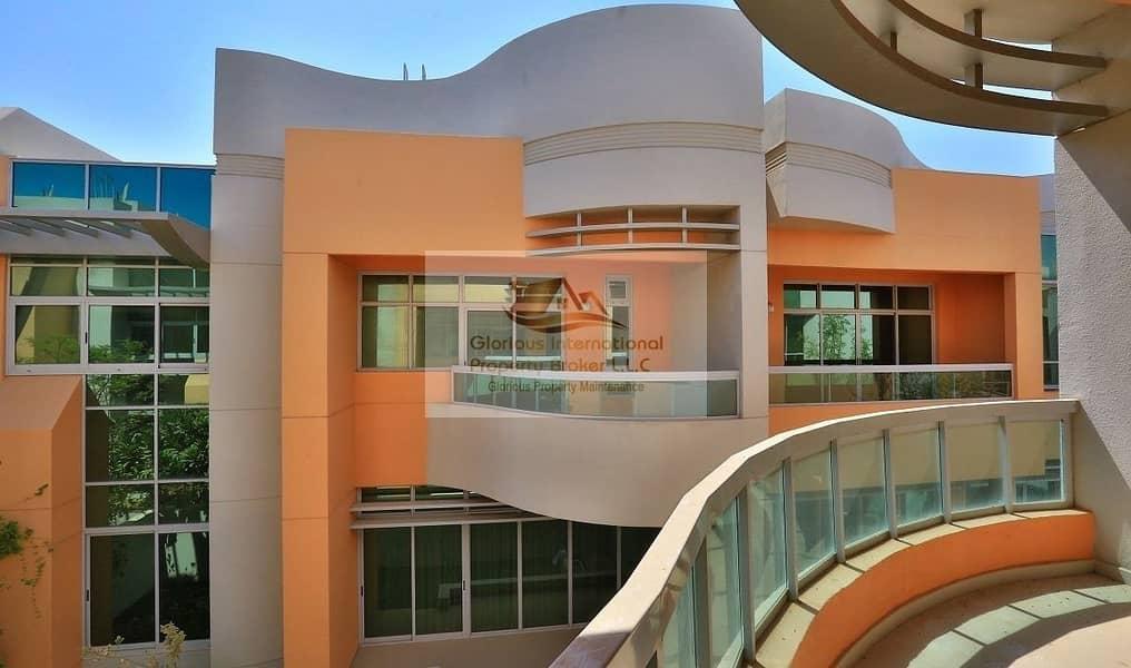 15 HIGH QUALITY 5BR Villa w/ Facilities Khalifa Park