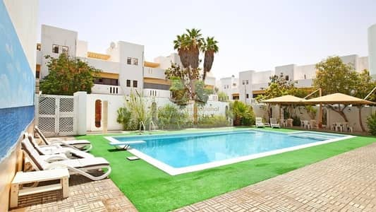 4 Bedroom Villa for Rent in Eastern Road, Abu Dhabi - Enchanting Villa w/ Garden in Khalifa Park