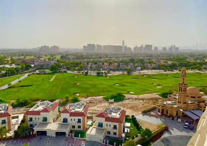 Studio for Rent in Dubai Sports City, Dubai - Mesmerising Views, Furnished, Big Balcony, Greatly Maintained