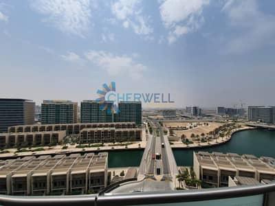 شقة 2 غرفة نوم للايجار في شاطئ الراحة، أبوظبي - Canal View | High Floor | Vacant | Luxurious Apartment