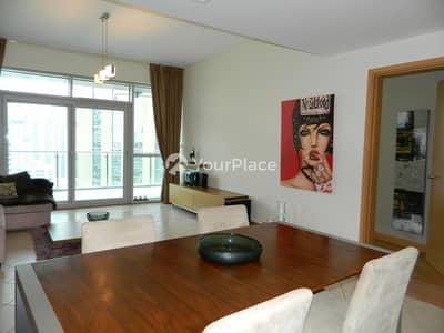 فلیٹ 1 غرفة نوم للايجار في دبي مارينا، دبي - Exquisite Furnishing - Full Marina View - Chiller Free