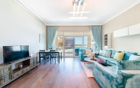 2 Bedroom Flat for Rent in Palm Jumeirah, Dubai - Beach Access | Full Sea View | All Bills Included