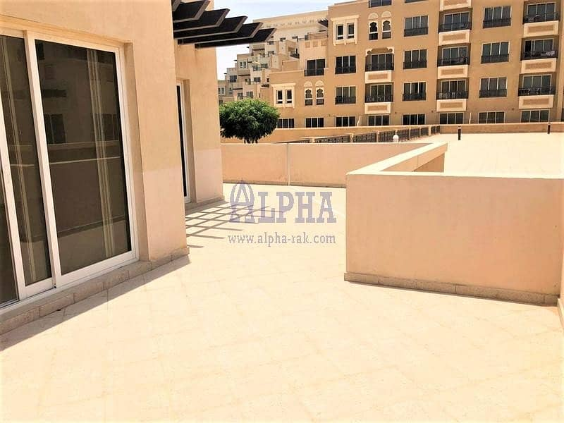 1 Month FREE! Partly Sea View! 1 BR Unfurnished