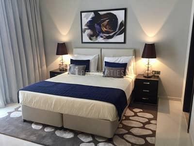 فلیٹ 1 غرفة نوم للايجار في داماك هيلز (أكويا من داماك)، دبي - Golf View   Fully Furnished   Mid Floor