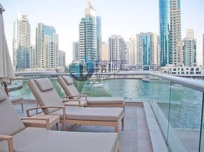 1 Bedroom Flat for Rent in Dubai Marina, Dubai - Beautifully furnished  apartment / Stunning sea view