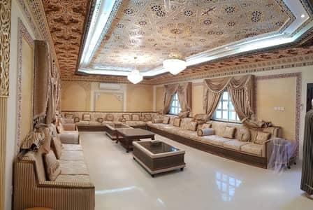 6 Bedroom Villa for Sale in Al Rawda, Ajman - Luxurious Villa Classic Design in Perfect location . with water electricity villa with an area of 6500 in Ajman Al Rawda 2 for sal