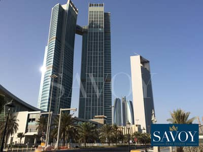 3 Bedroom Apartment for Rent in Corniche Area, Abu Dhabi - No Commission Fees | Modern Sea View 3BR Flat