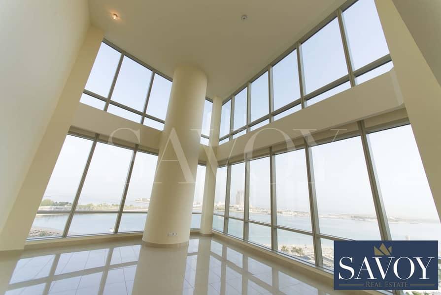 Luxury Sea View Duplex 3BR ,No Commission Fees