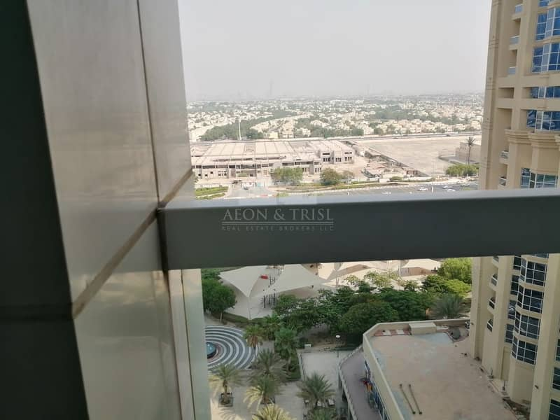 2 Elegant furnished 1 bedroom in Saba tower 2 park view