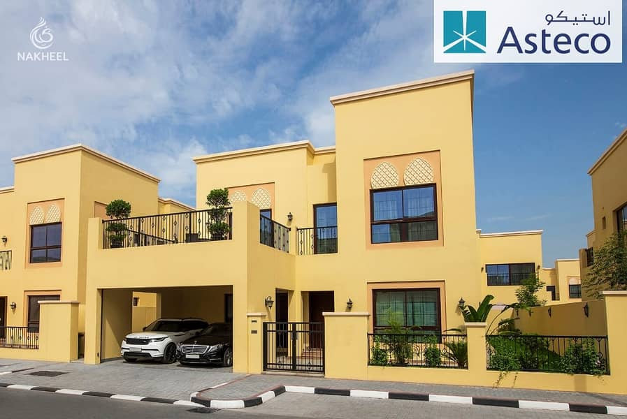 1 Month Free - Multiple cheques Independent Villa  Garden Terrace