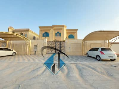 5 Bedroom Villa for Sale in Al Jurf, Ajman - New villa for sale with great finishing and design, excellent location