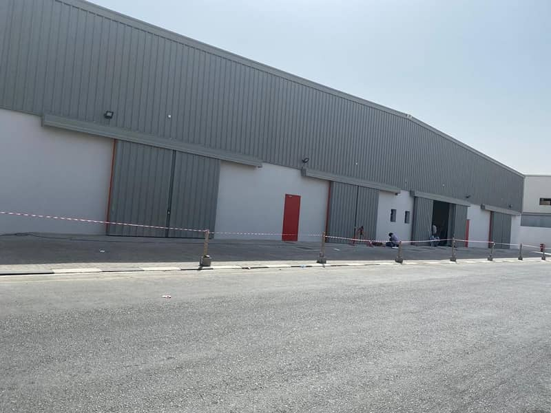 Front Side Warehouses  available for Rent ( brand new) one month free