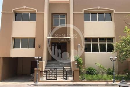 فیلا 6 غرف نوم للايجار في البطين، أبوظبي - 6BR Villa inside a compound in Al Bateen
