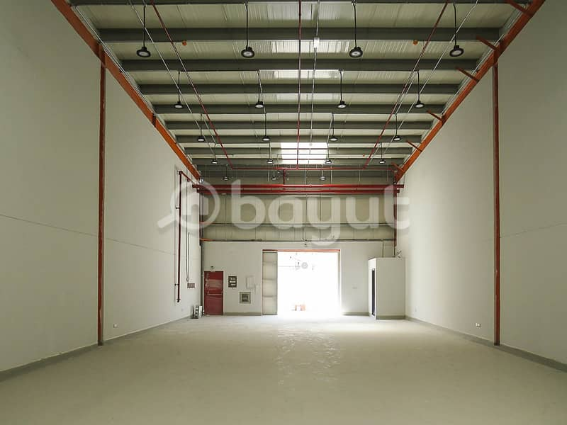 warehouse available  in sharjah IND. Area No. 15