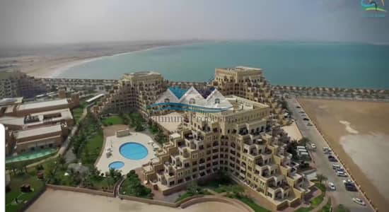 1 Bedroom Apartment for Rent in Al Marjan Island, Ras Al Khaimah - Gorgeous Sea View 1 bedroom in Kahraman